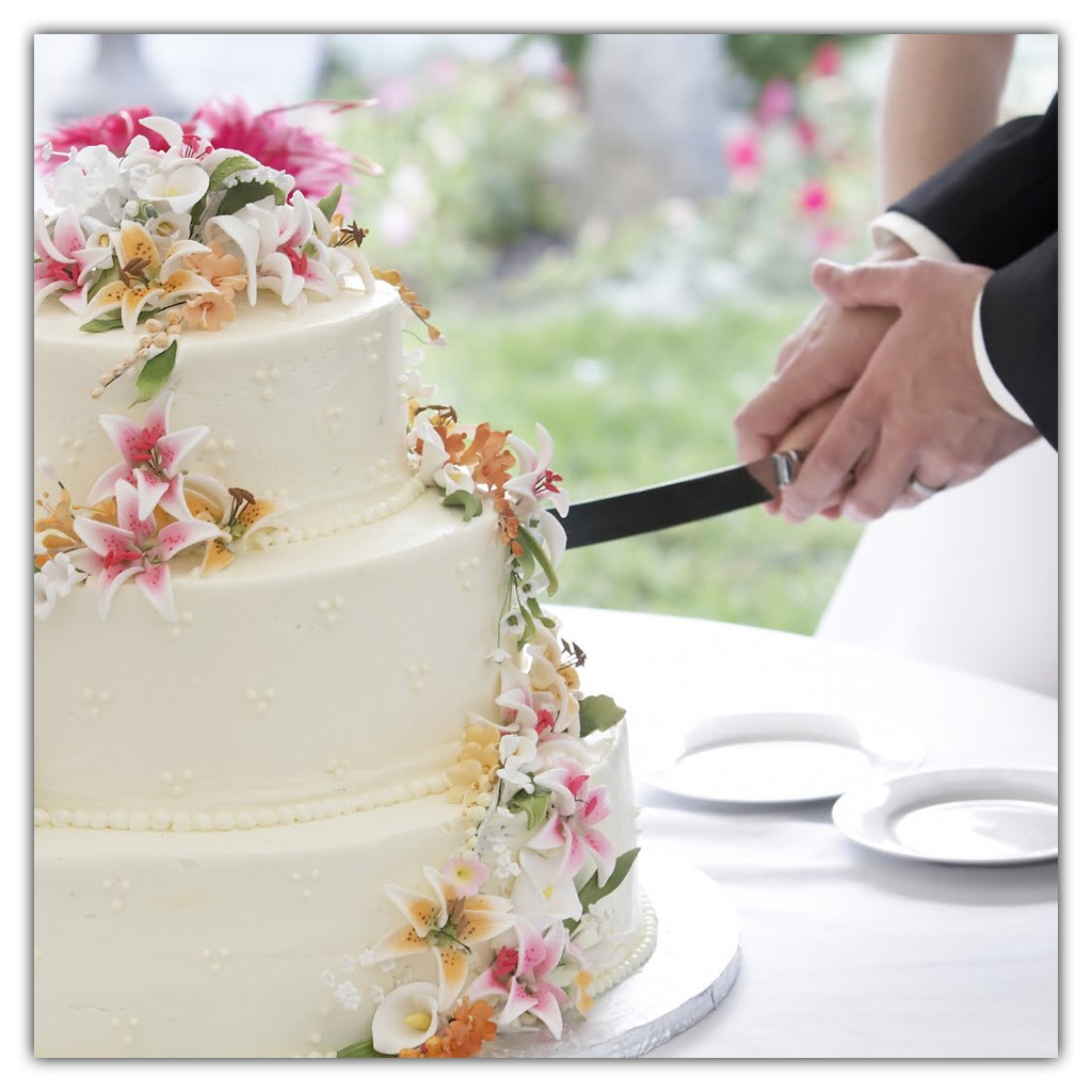 Wedding cake kind of cakes modern decor design in a symbolic cutting of the wedding cake a bride holds a cake knife and after her joins a groom to cut the first pieces of the wedding cake junglespirit Gallery