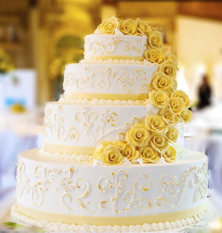 Wedding cake - Kind of Cakes, Modern Decor & Design